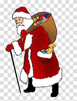 Military Santa Cliparts transparent background PNG cliparts.