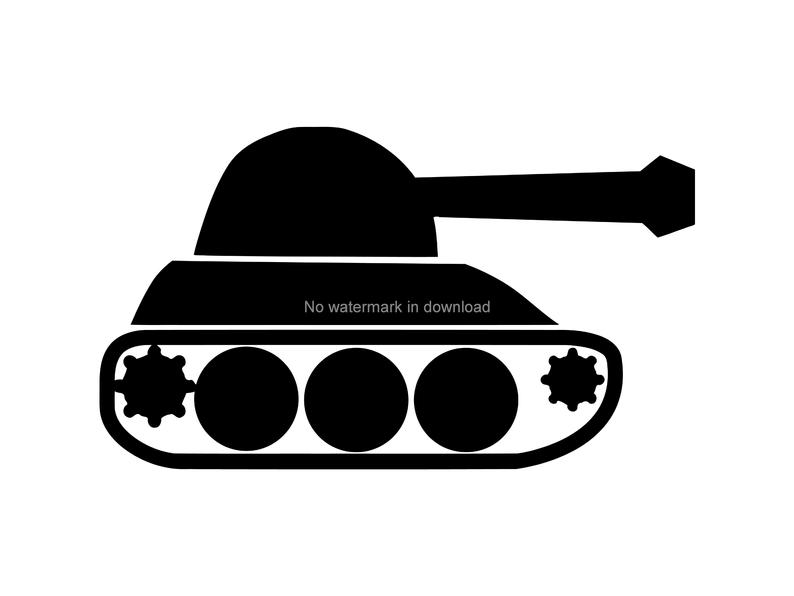 Tank Clipart, Tank Svg, Clip Art, Tank Svg Vector, Army Clipart, Tank  Clipart, Instant Download, Military Cut Files, Army Svg Files Dxf Png.