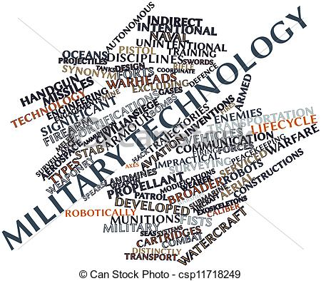 Drawing of Military technology.