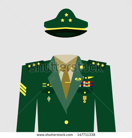 Military Uniform Stock Images, Royalty.