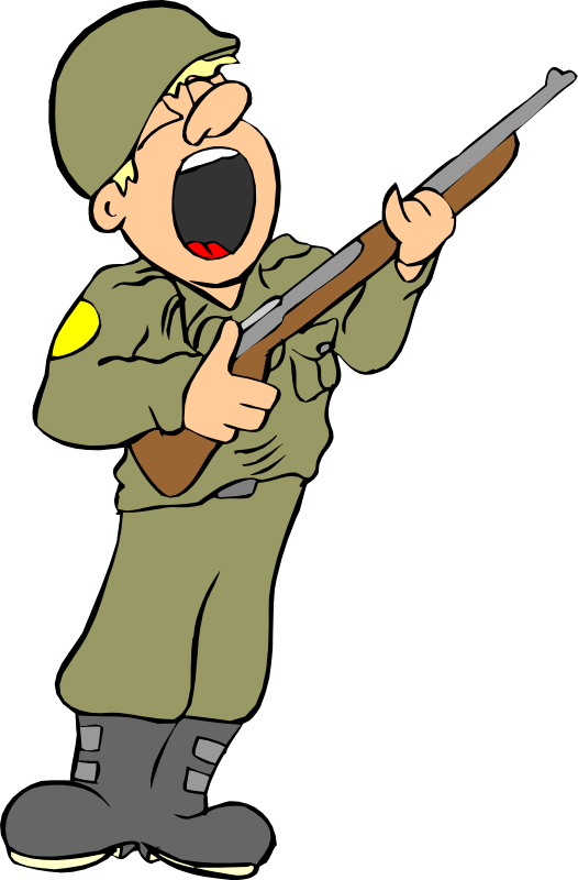 Military free to use clip art.