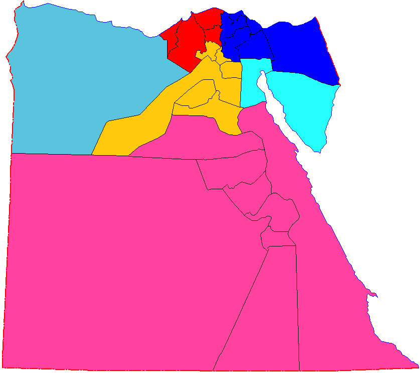 Structure of the Egyptian Army.