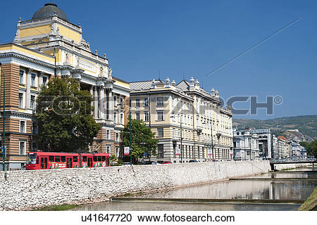 Stock Photography of Bosnia and Herzegovina, Sarajevo Canton.