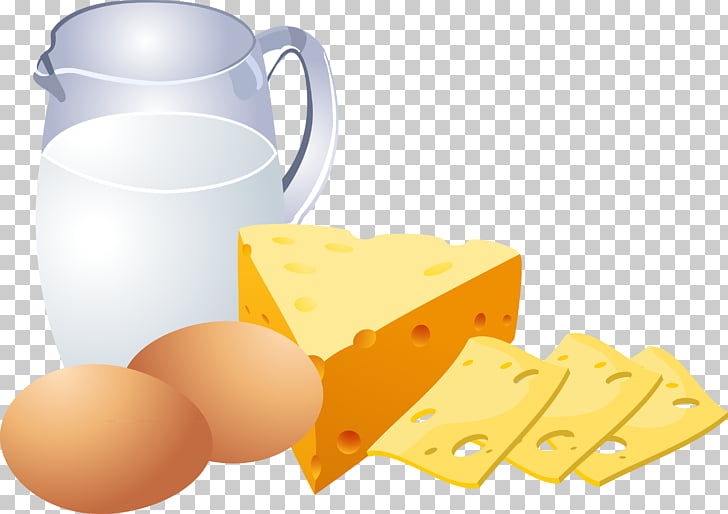 Milk Dairy product Egg Cheese, Eggs, milk, cheese.