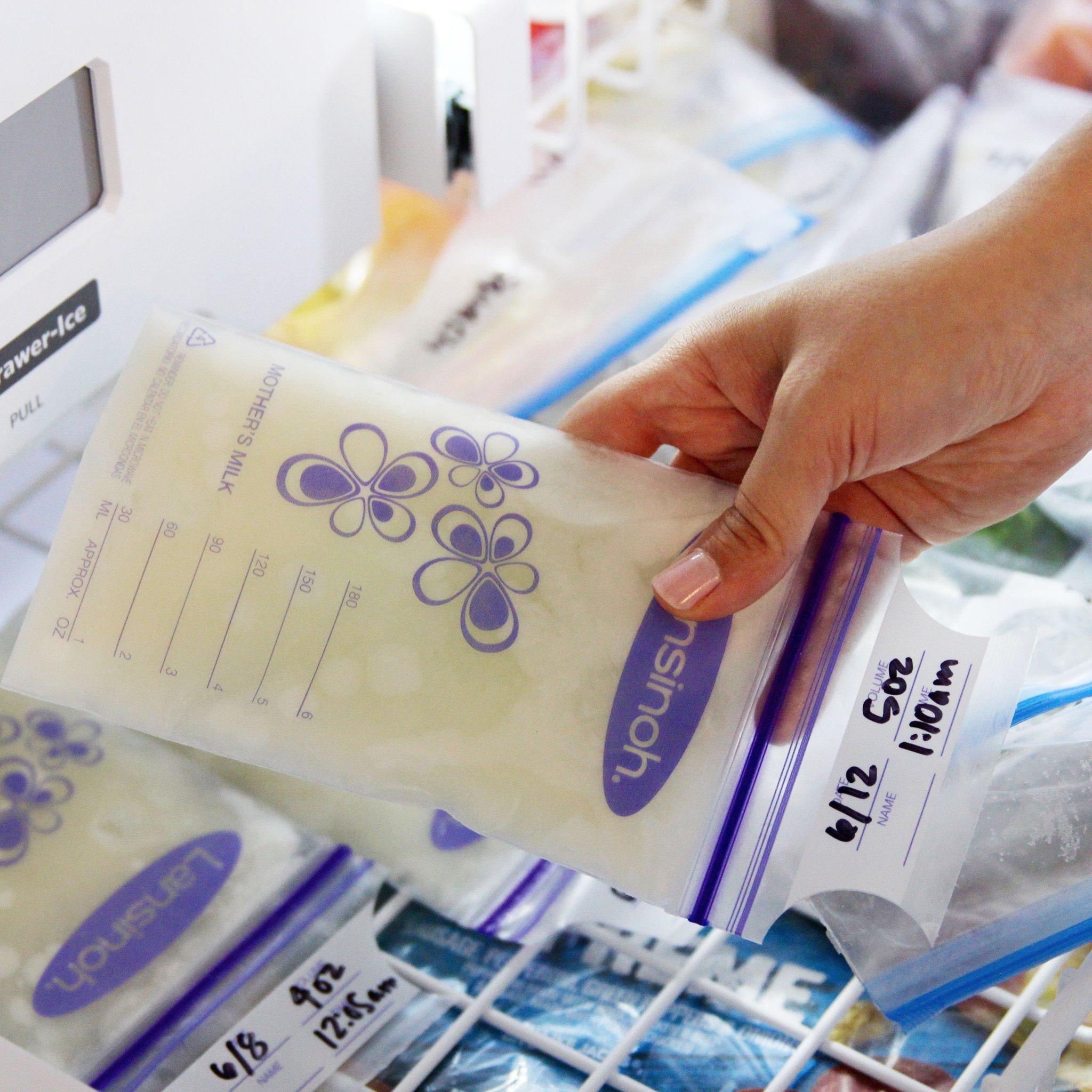 Ideas For Organizing Frozen Breast Milk.