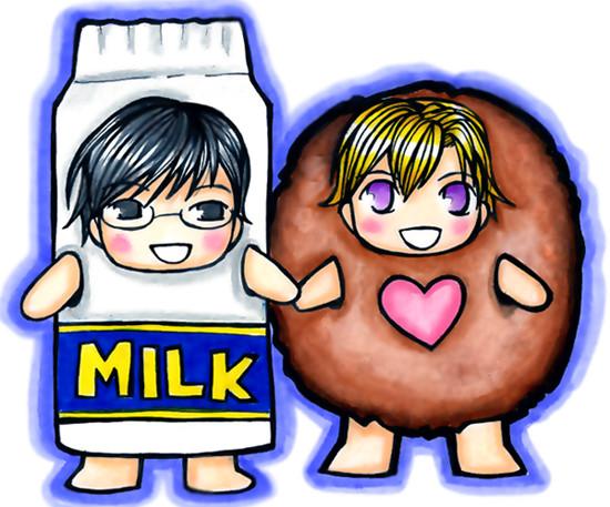 Milk Kyouya Cookie Tamaki by star.