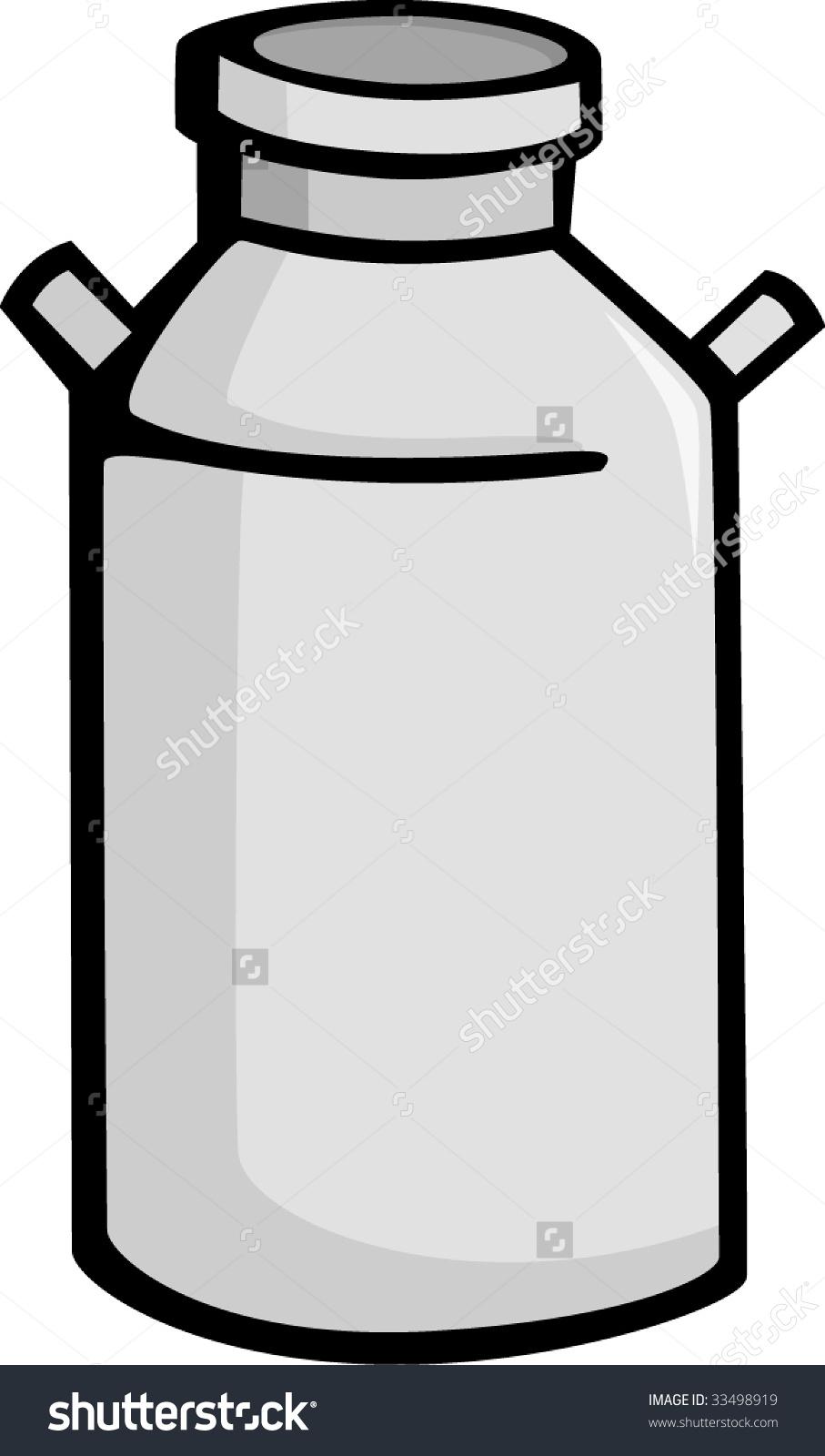 Milk Can Stock Vector 33498919.