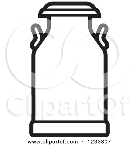 Free milk can clipart images.