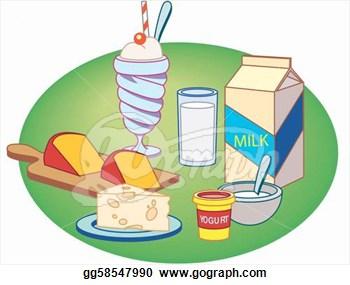 Milk And Alternatives Clipart.