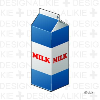 Clipart milk carton.