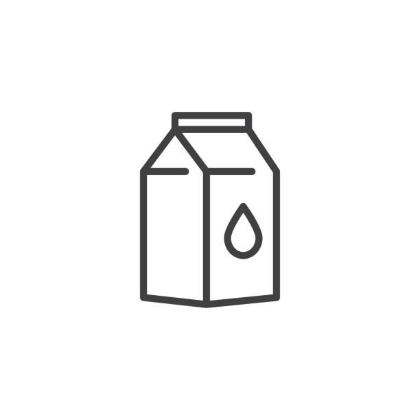 Best Milk Carton Illustrations, Royalty.