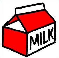 Free Milk Clipart.