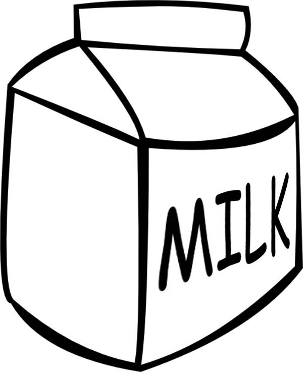 milk clipart black and white free download - Clipground
