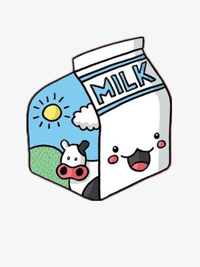 Cute Milk Bottle, Cute Clipart, Milk Cli #89546.