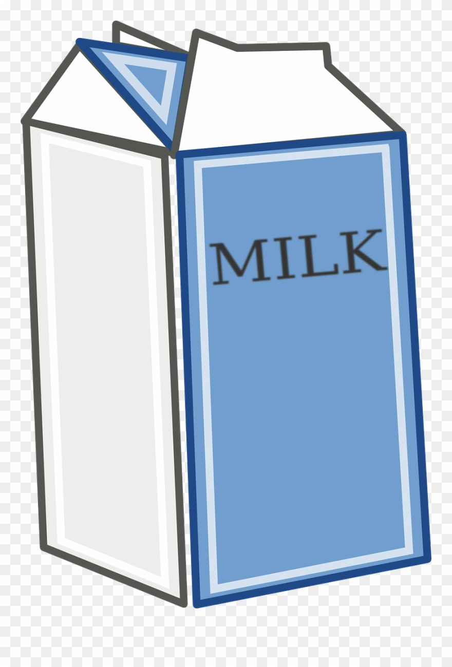 Milk Carton Clipart Png Transparent Png (#154975).