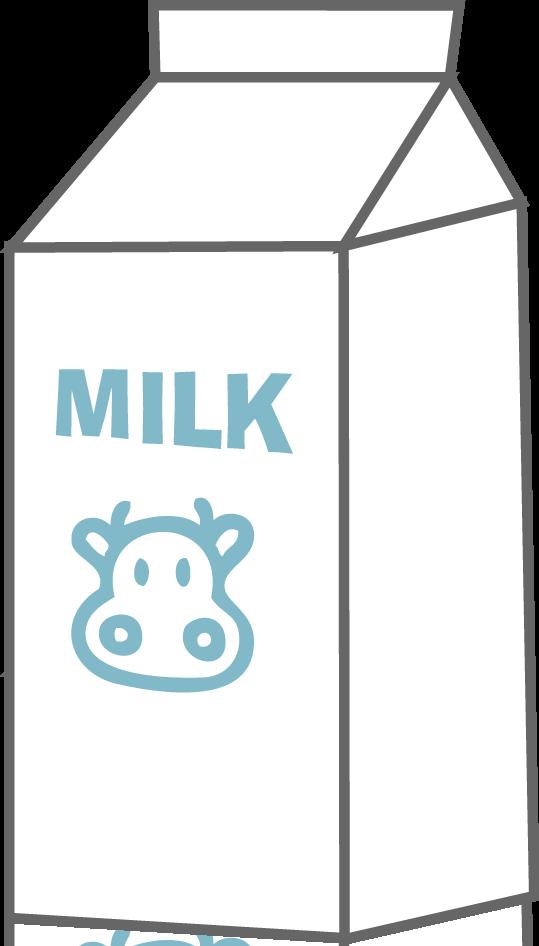 Chocolate milk Carton Clip art.