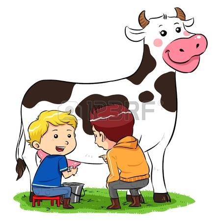 390 Cow Milking Stock Illustrations, Cliparts And Royalty Free Cow.