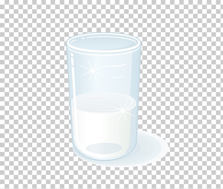 Coffee cup Glass Mug, Transparent glass milk cup PNG clipart.