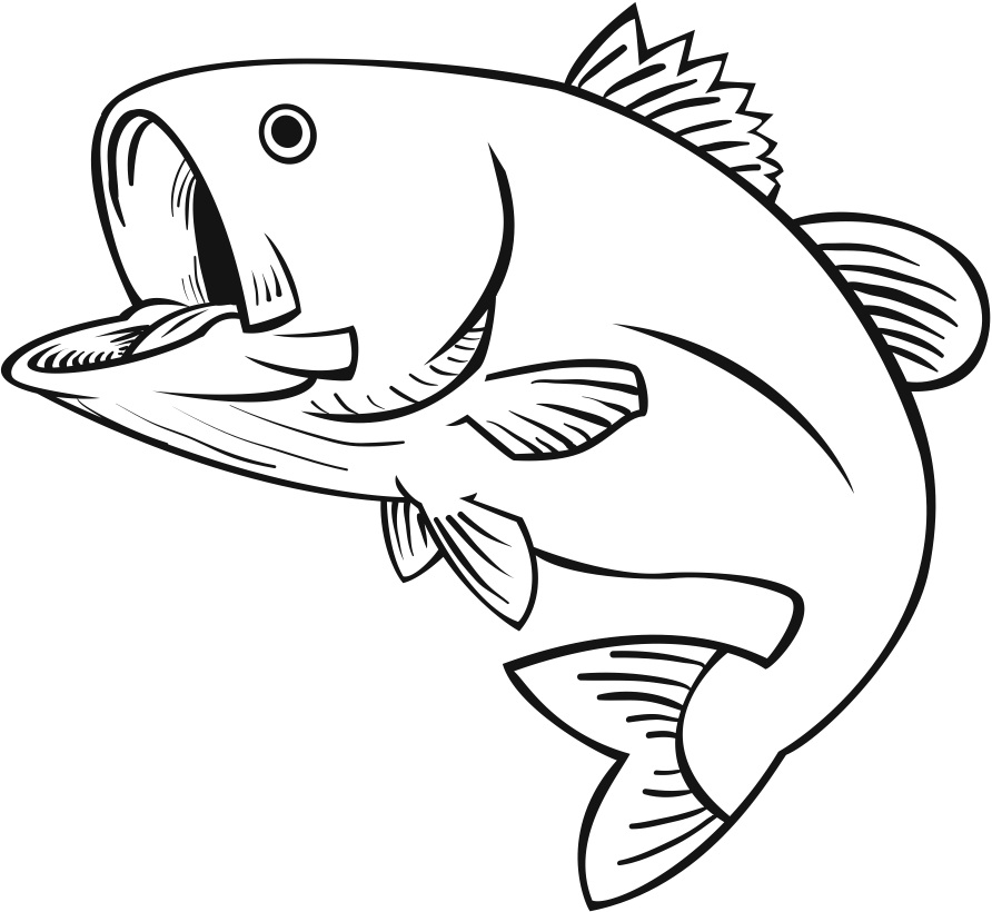 Fish black and white milk fish clipart black and white clipartfox.