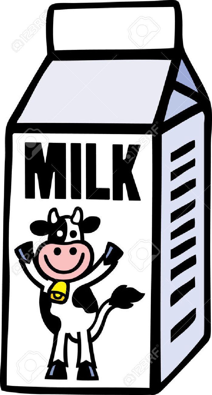 3777 Milk free clipart.
