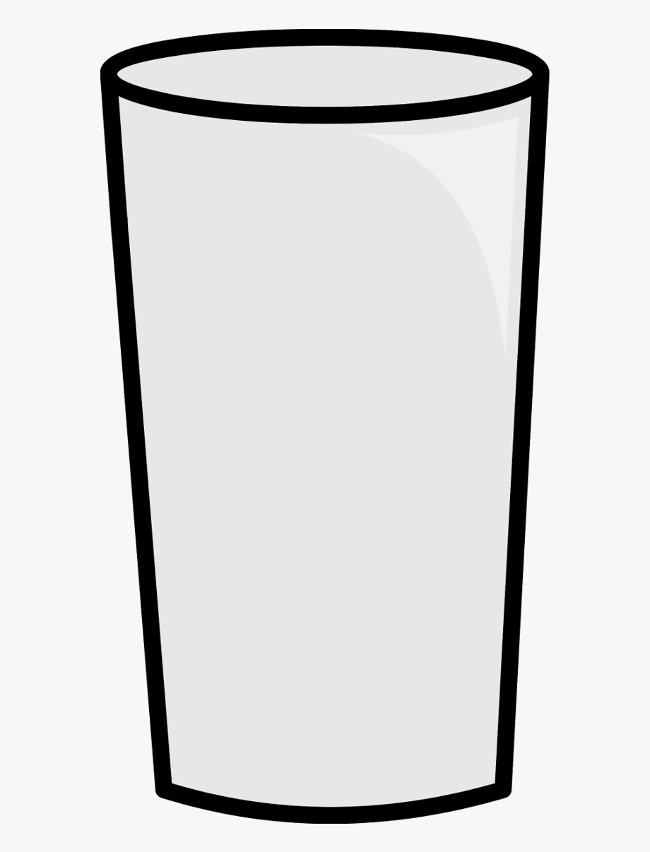 Glasses Clipart Glass Milk.