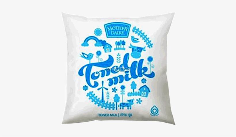 Mother Dairy Toned Milk 500 Ml.
