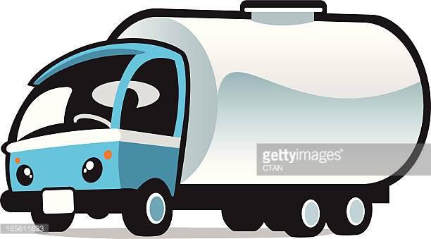 Heavy Trucks Vector Art.
