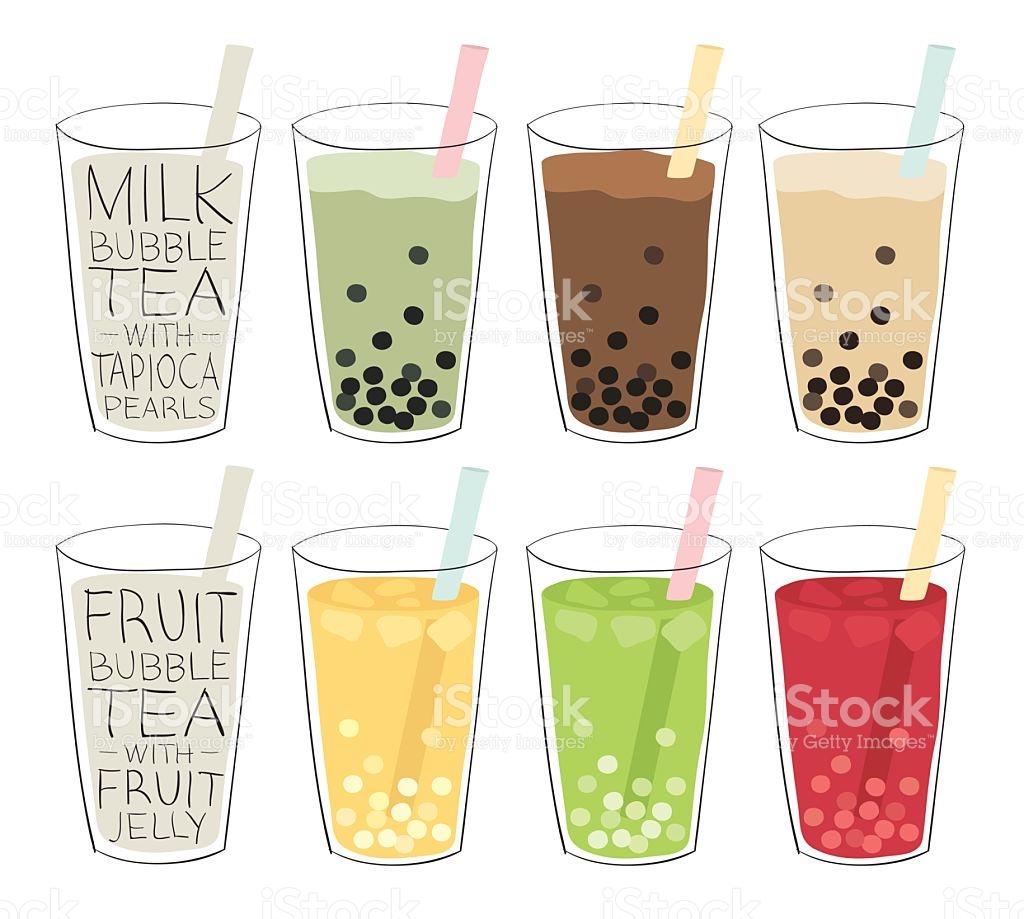 Milk Tea Clip Art, Vector Images & Illustrations.