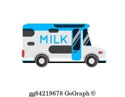 Milk Truck Clip Art.