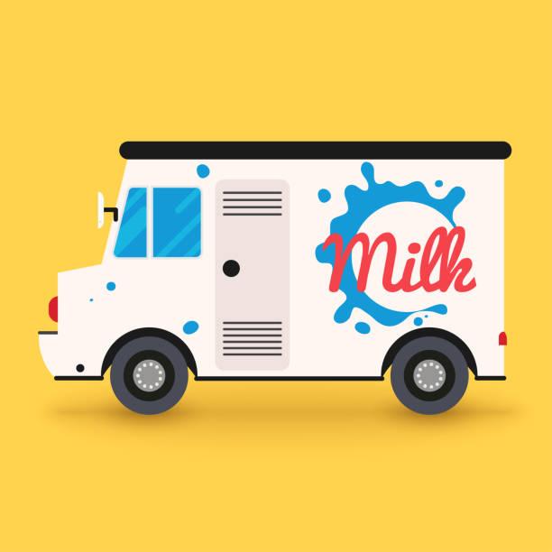 Best Milk Truck Illustrations, Royalty.