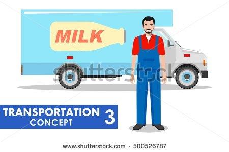 Milk Transport Lizenzfreie Bilder und Vektorgrafiken kaufen.