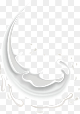 Splash Of Milk Vector Png, Vector, PSD, and Clipart With.