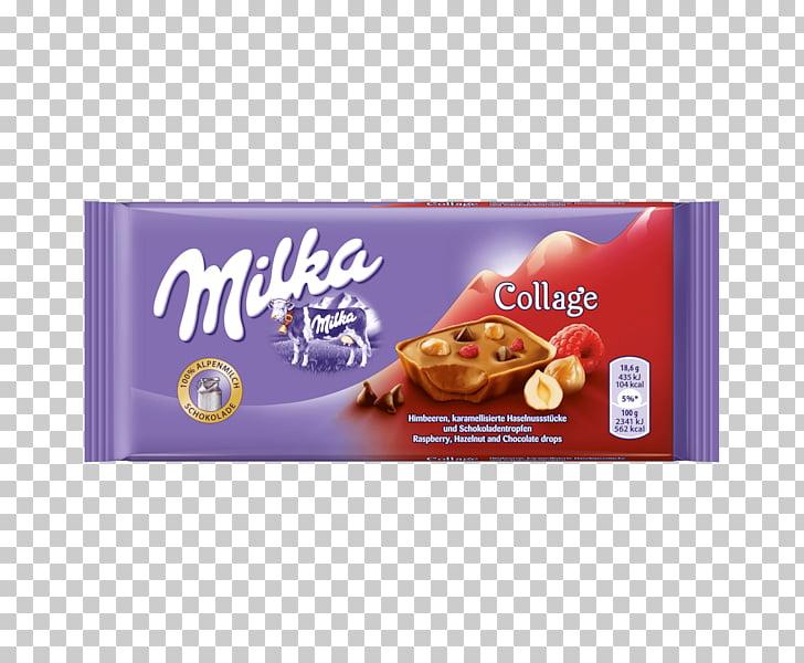 White chocolate Cream Milka, milk PNG clipart.