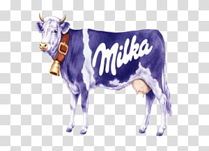 Milka Cow PNG clipart images free download.