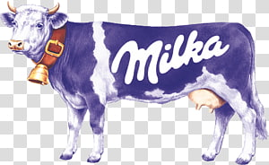 Milka Cow transparent background PNG cliparts free download.