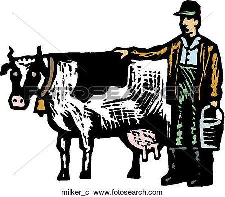 Clipart of Milker milker_c.