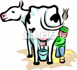 A_boy_milking_a_dairy_cow_100425.