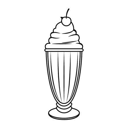 7,345 Milkshake Stock Vector Illustration And Royalty Free.