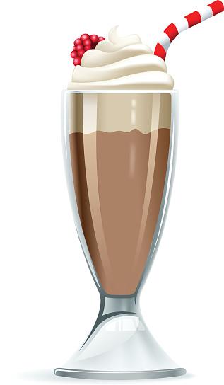 Clipart milkshake.