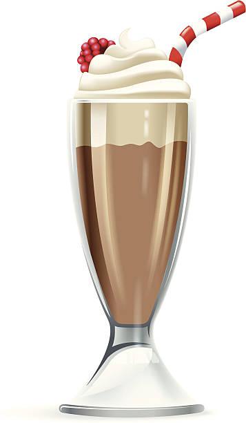 Chocolate Milkshake Clipart.