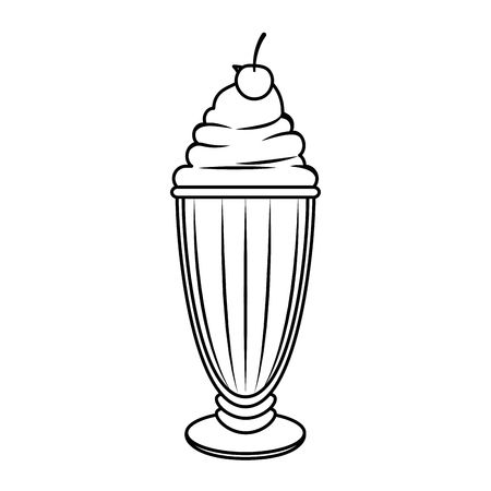 7,345 Milkshake Stock Vector Illustration And Royalty Free.