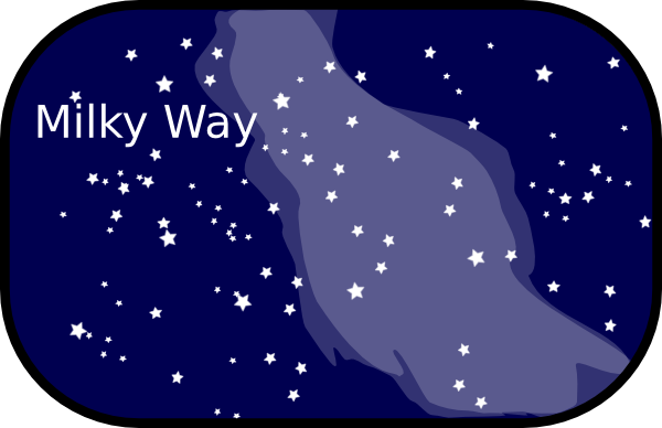 Milky Way Clipart.