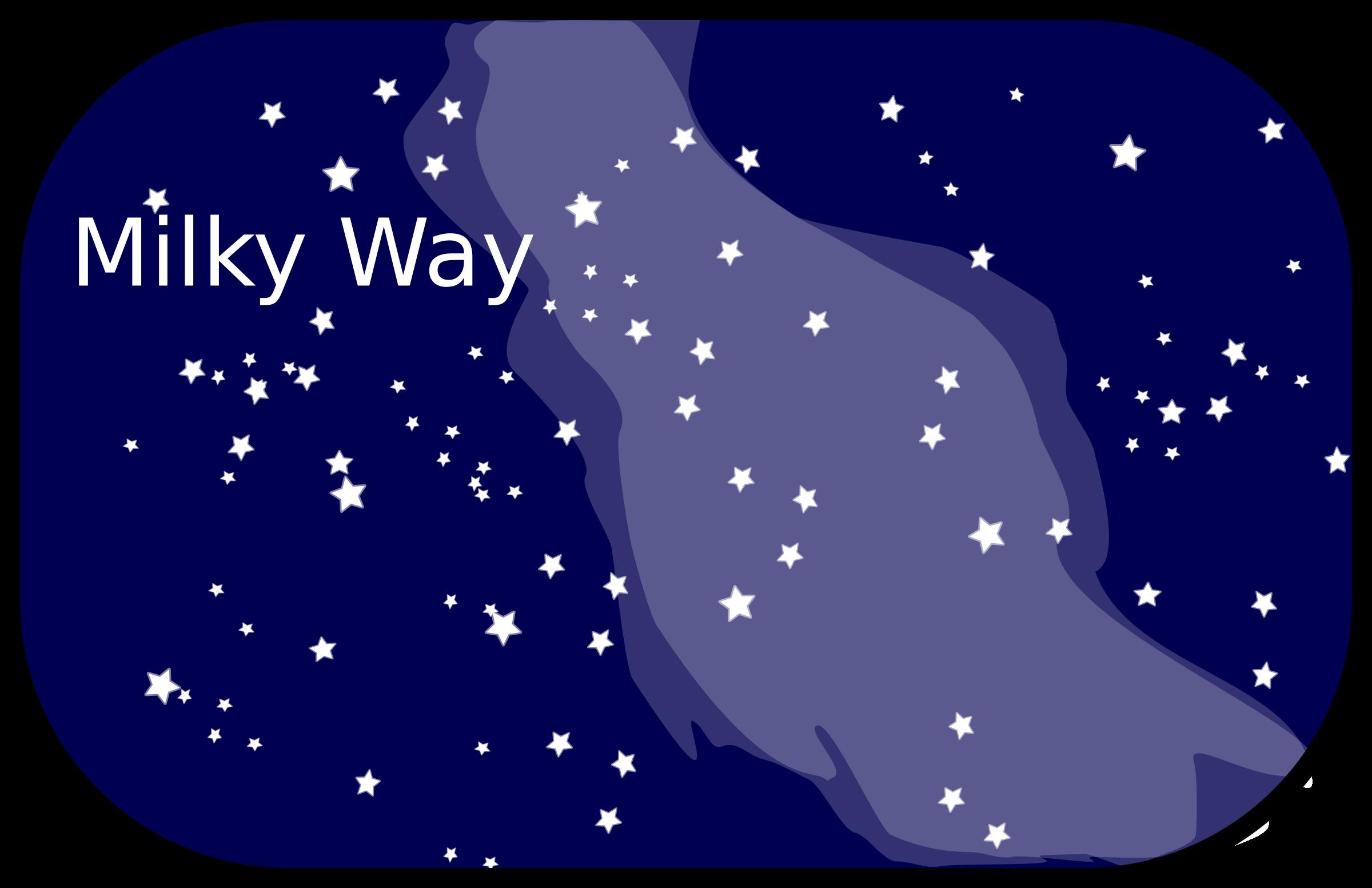 Milky Way Clip Art.