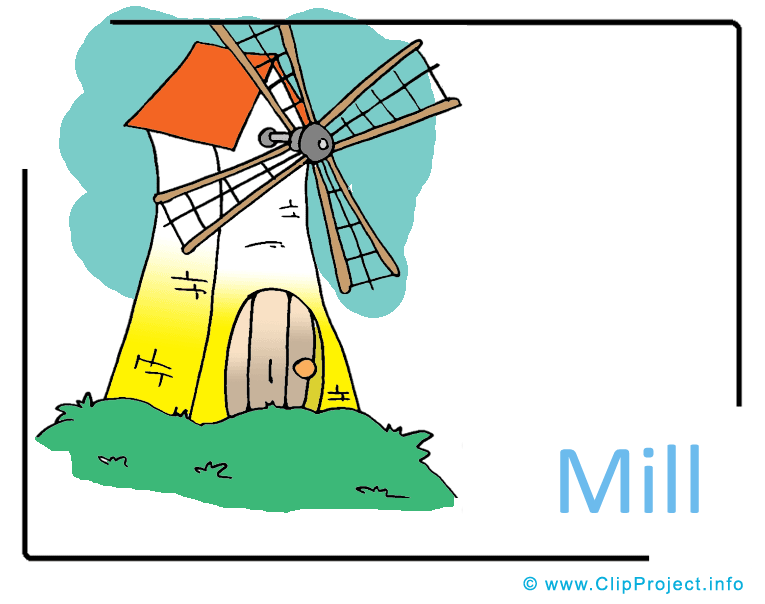 Mill Clipart Image free.