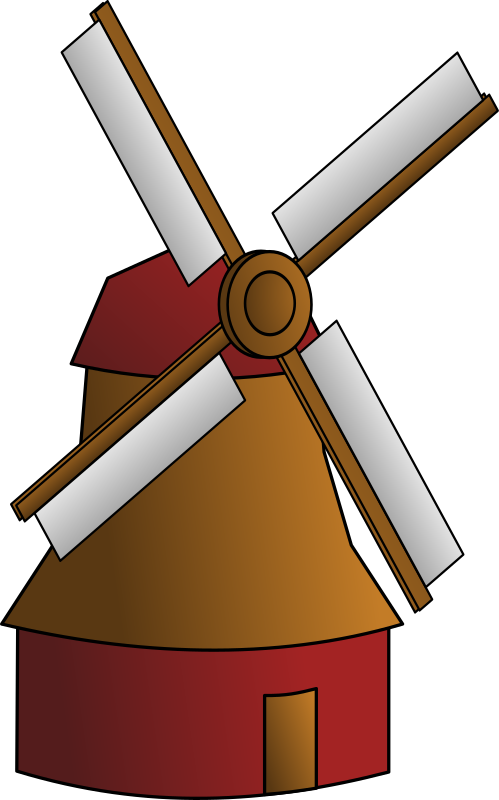 Mill Clipart.