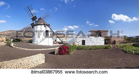"""Stock Image of """"Mill museum, Centro de Interpretacion de los."""