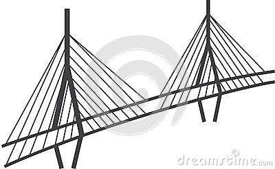 Millau Bridge Stock Illustrations.