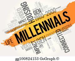 Millennials Clip Art.