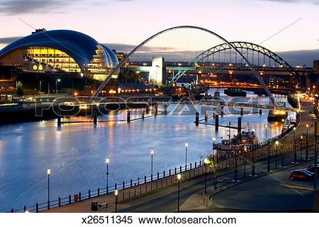 Stock Image of England, Newcastle.