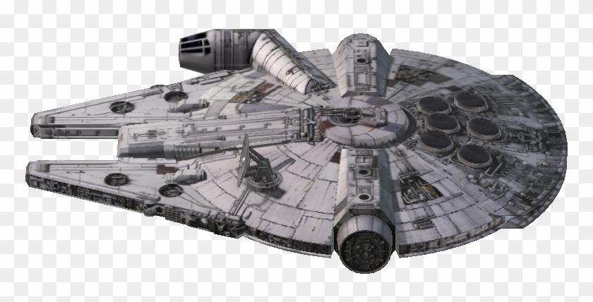 Millennium Falcon 3d.
